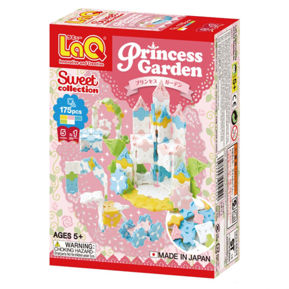 "Japoniškas konstruktorius LaQ ""Sweet Collection Princess Garden"" -20%  - 1"
