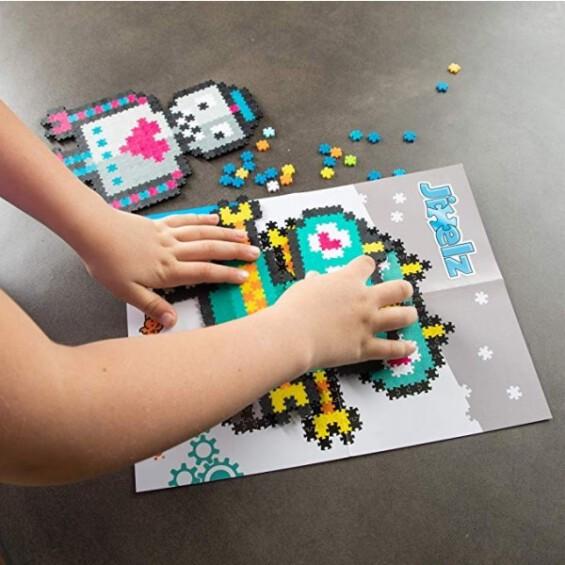 Jixelz 700 pc Set - Roving Robots -20%  - 4