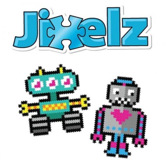 """Jixelz 700 detalių dėlionė – """"Besisukantys robotai"""" -20%  - 1"""