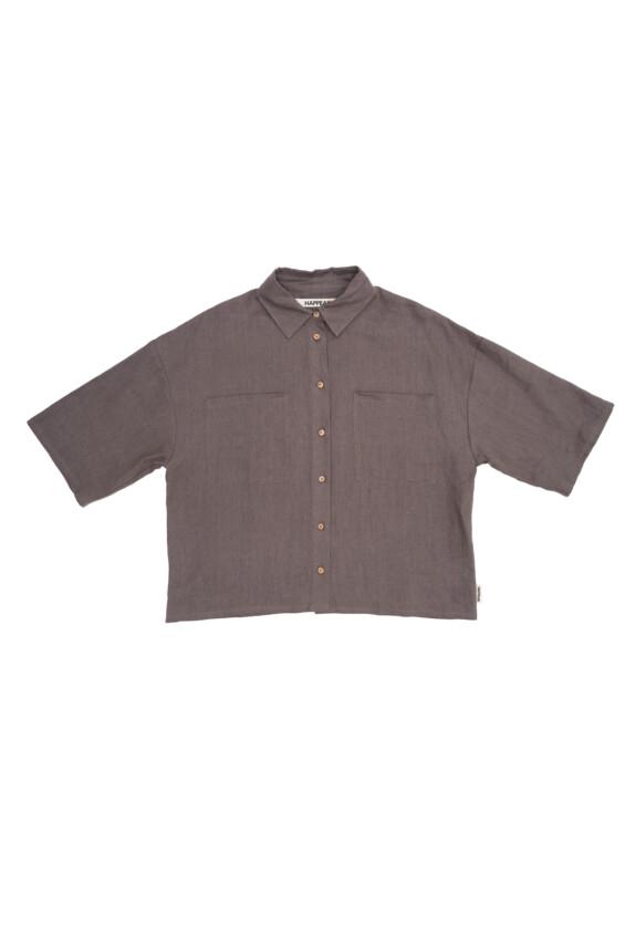 Moteriški lininiai marškiniai Marškinėliai  - 3