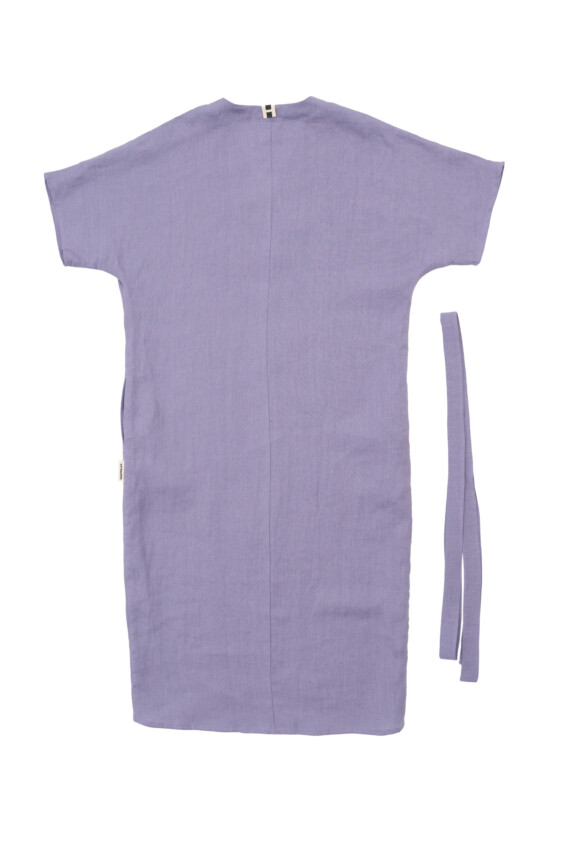 Lininė laisva suknelė Outlet  - 2